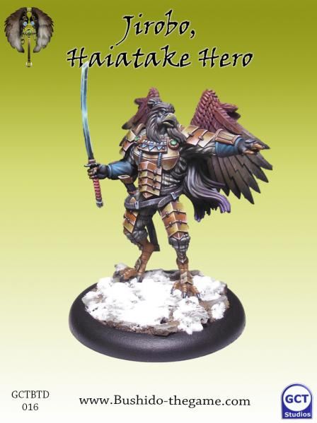 Bushido Miniatures: (Tengu Descension) Jirobo