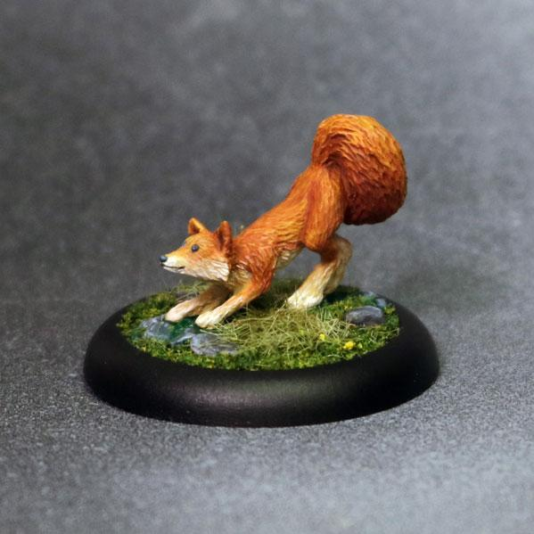 Bombshell Miniatures: Sidekicks - Friskers The Fox