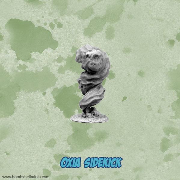 Bombshell Miniatures: Sidekicks - Oxia, Air Elemental