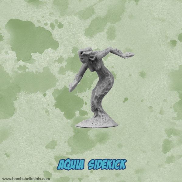 Bombshell Miniatures: Sidekicks - Aquia, Water Elemental