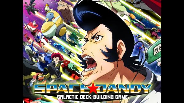 Space Dandy: Galactic Deck-Building Game Deluxe (Limited Edition)