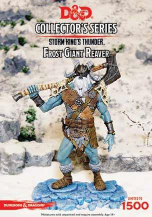 D&D Collector's Series: Frost Giant Reaver (Limited)