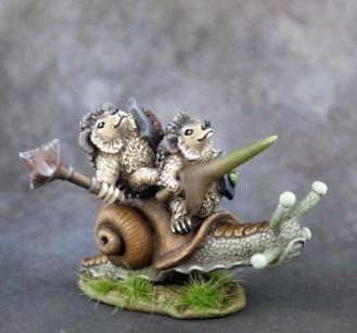 Critter Kingdoms: Hedgehogling Cavalry on Snail