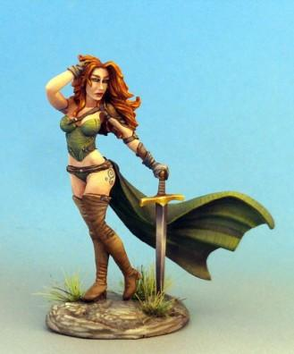Visions In Fantasy: Pinup Female Warrior