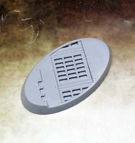 Scenic Bases: 65x30mm Warp Core, Beveled Edge (1)