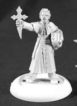 Savage Worlds Miniatures: Order Of St George Priest