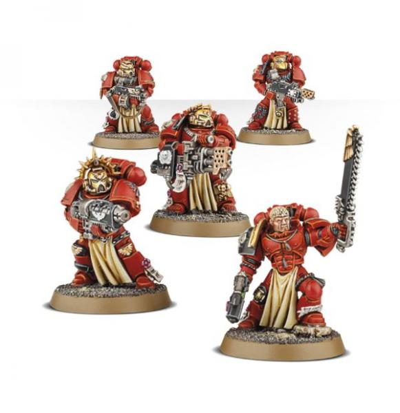 Warhammer 40K: BLOOD ANGELS STERNGUARD VETERAN SQUAD