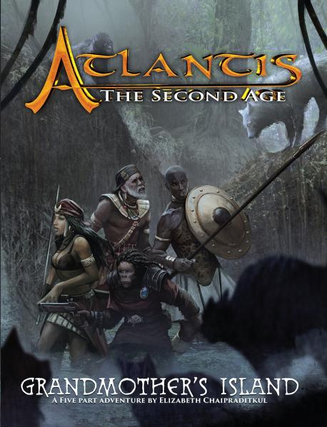 Atlantis: The Second Age RPG - Grandmother's Island (Adventure)