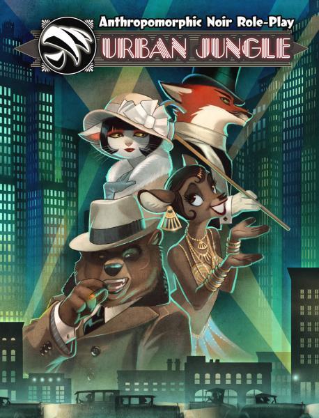 Urban Jungle RPG: Anthropomorphic Noir Role-Play