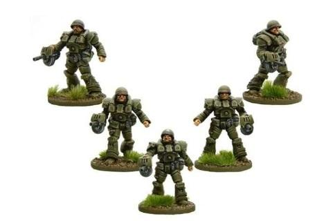 Bolt Action (Konflikt '47): (USA) Heavy Infantry