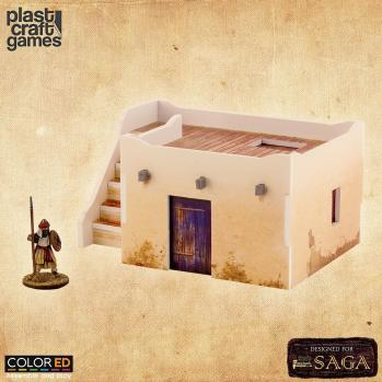 28mm Historical: Desert Dwelling w/Stairs (Color ED)