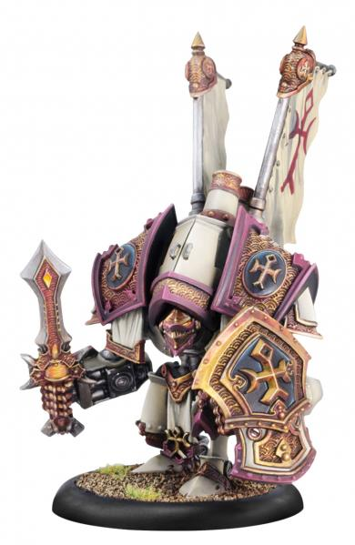 Warmachine: (The Protectorate Of Menoth) Guardian/Indictor, Heavy Warjack Kit (plastic)