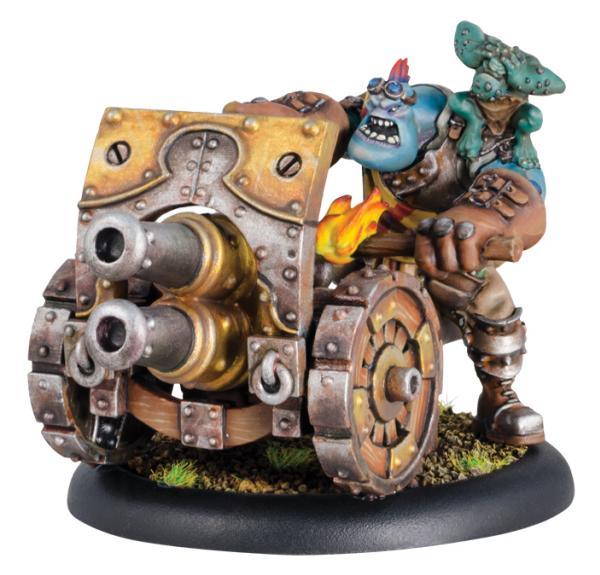Hordes: (Trollbloods) Thumper/Pummeler Weapon Crew (plastic)