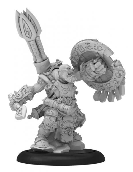 Hordes: (Trollbloods) Madrak, Great Chieftan Warlock (metal/resin)