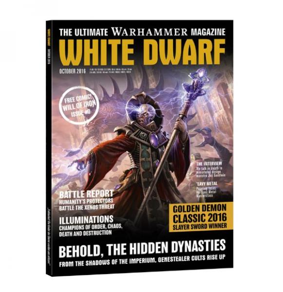 White Dwarf Magazine [OCT 2016]
