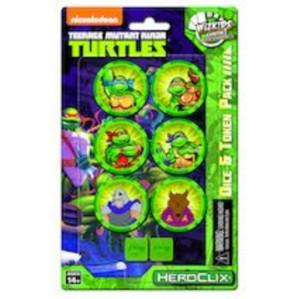 HeroClix: Teenage Mutant Ninja Turtles - Dice & Token Pack