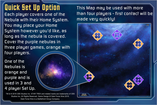 Star Trek Ascendancy: Galaxy Play Mat
