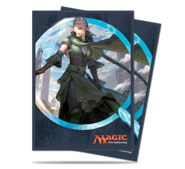 Magic The Gathering: Kaladesh - Nissa Deck Protectors (80)