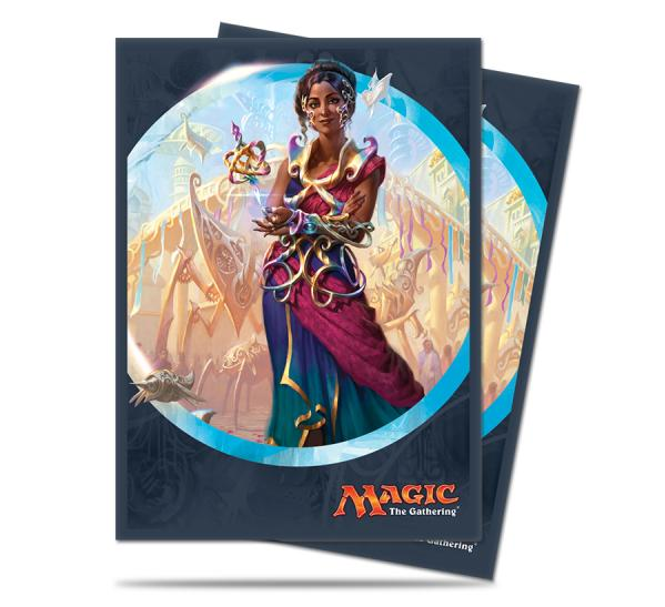 Magic The Gathering: Kaladesh - Saheeli Rai Deck Protectors (80)