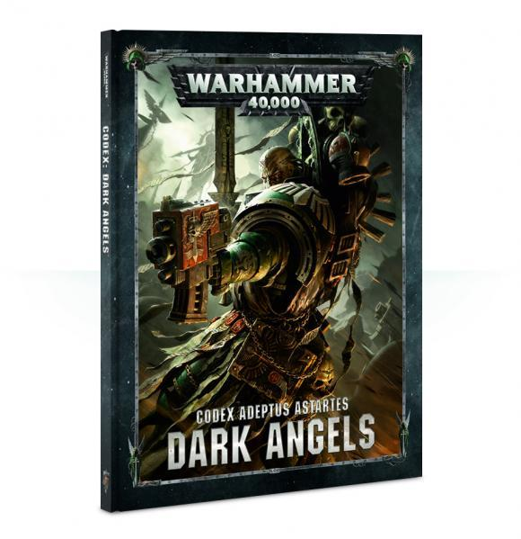 Warhammer 40K: Dark Angels Codex (SC)