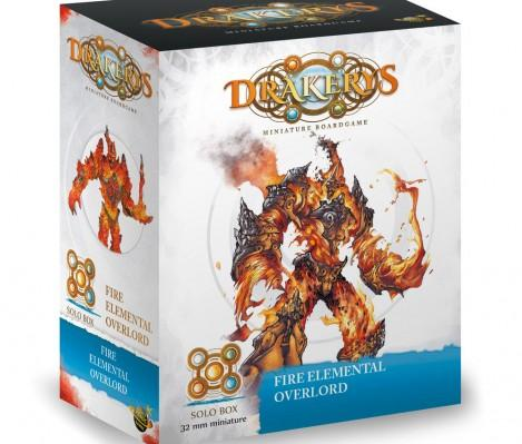 Drakerys: Fire Elemental Overlord, Maelstrom Creature Solo Box (1)