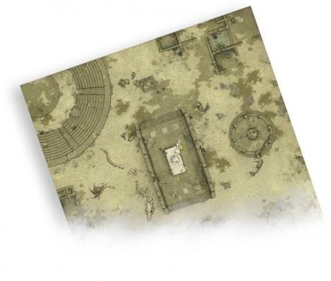 Drakerys: Ancient City (Playmat B) Accessory Set