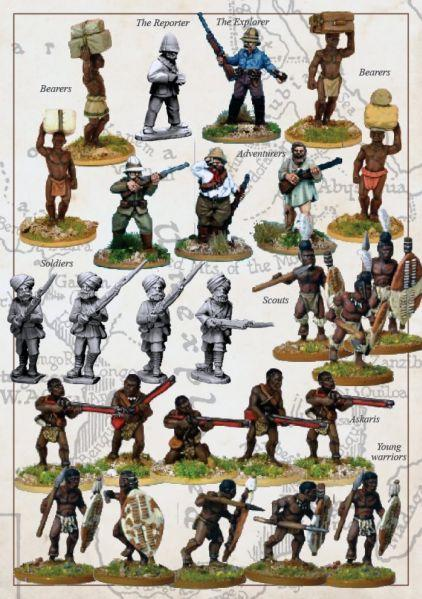 28mm Colonial Africa: Explorers Expedition