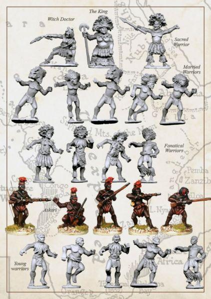28mm Colonial Africa: (African Kingdoms) The Ngoni