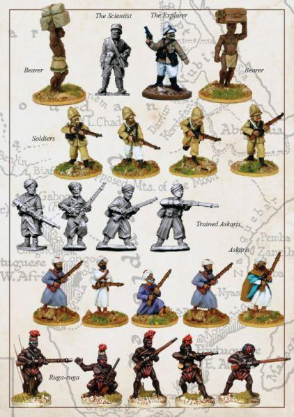 28mm Colonial Africa: French Foreign Legion Expedition