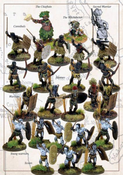 28mm Colonial Africa: Jungle Tribes