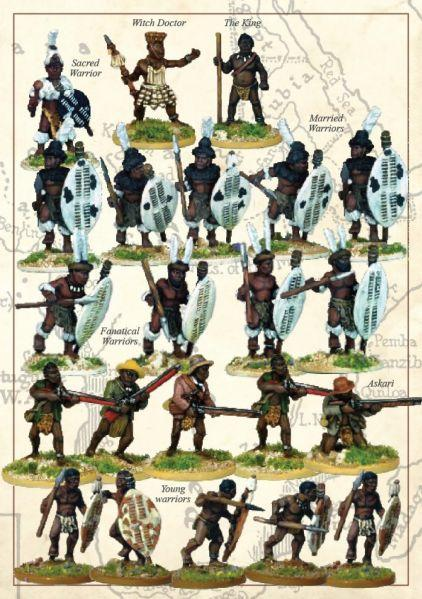 28mm Colonial Africa: (African Kingdoms) The Matabele