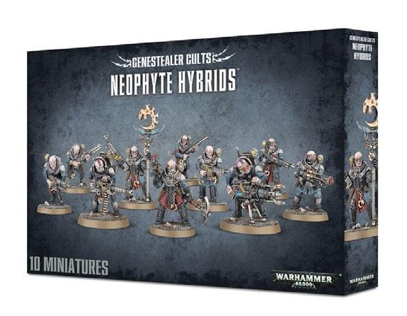 Shadow War: GENESTEALER CULTS NEOPHYTE HYBRIDS [KILL TEAM]