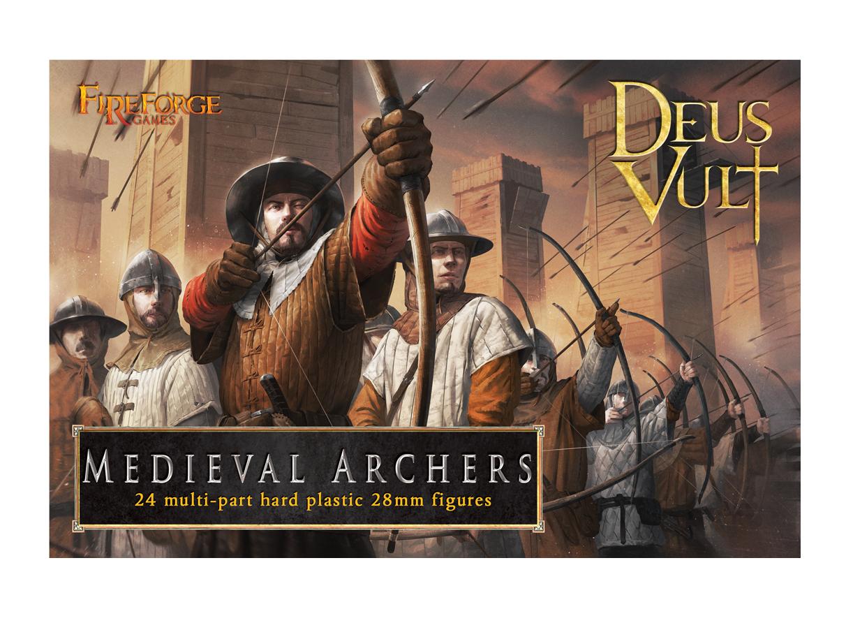 28mm Deus Vult: Medieval Archers (24)
