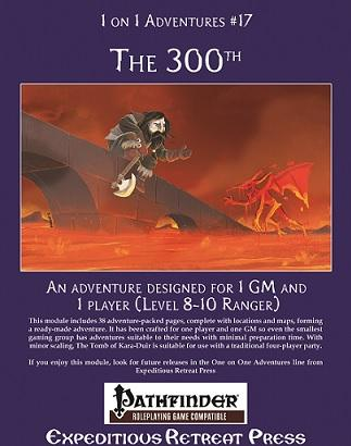 Pathfinder RPG: (1 On 1 Adventures) #17 The 300th