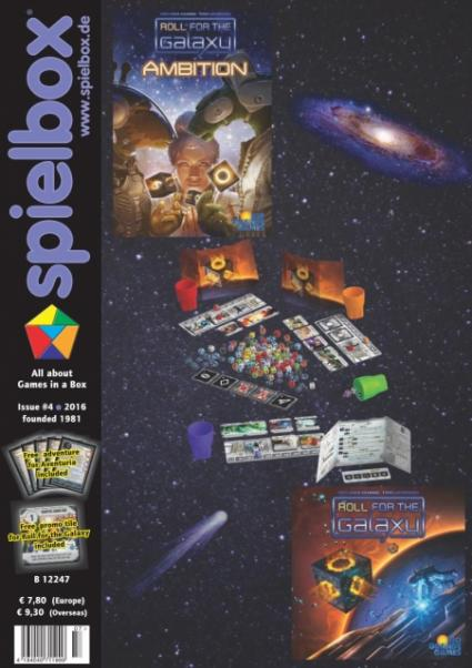 Spielbox Magazine: Issue #4, 2016