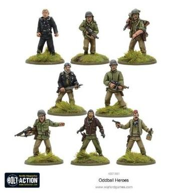 Bolt Action, 2nd Edition: Oddball Heroes
