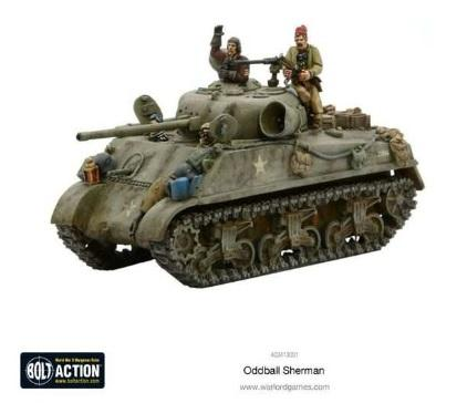 Bolt Action, 2nd Edition: Oddball Sherman