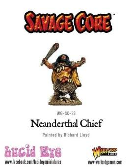 Savage Core: Neanderthal Chief