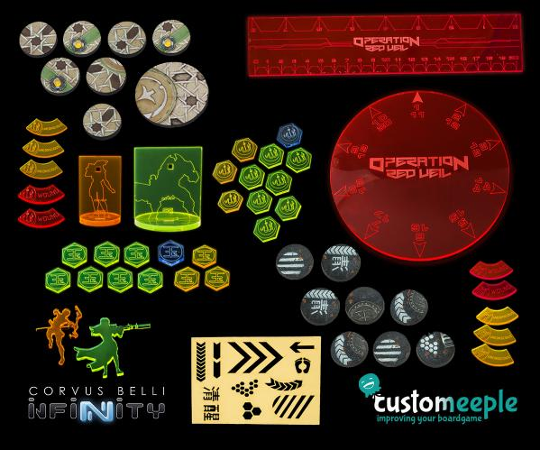 Infinity: Operation ''Red Veil'' Deluxe Token Pack (54 pieces)