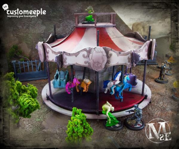 Malifaux: Curmudgeon Square Carousel