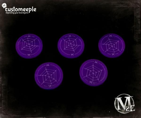 Malifaux: Web Markers (5)