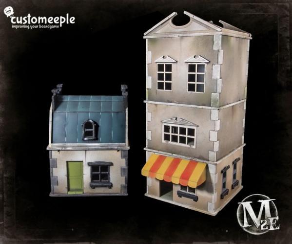 Malifaux: Millbank Street Modular Houses
