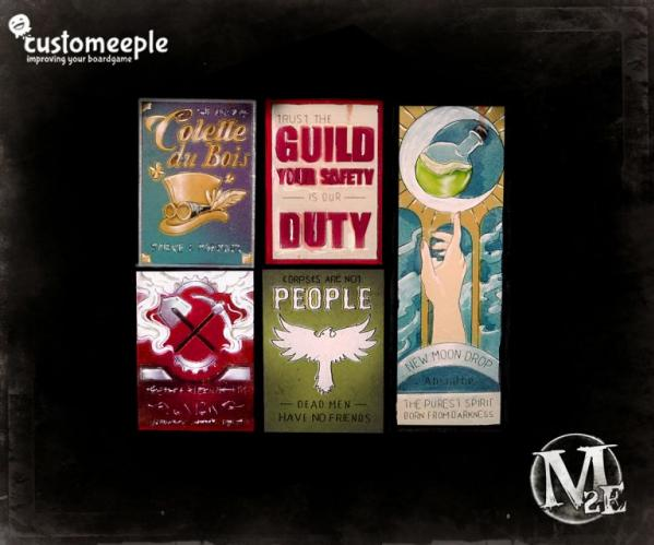 Malifaux: Millbank Street Posters (5)
