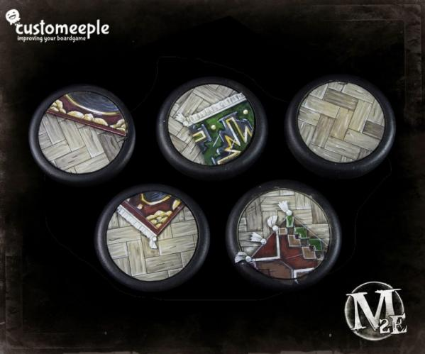Malifaux: (Base Tops) 50mm Lucius Office (2)