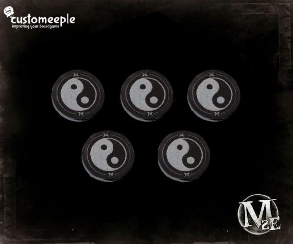 Malifaux: Chi Markers (5)