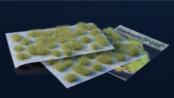 Miniature Basing/Flock: (Gamer's Grass) Light Green 6mm Tufts
