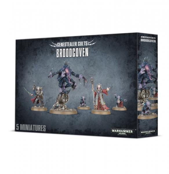 Warhammer 40K: Genestealer Cults Broodcoven