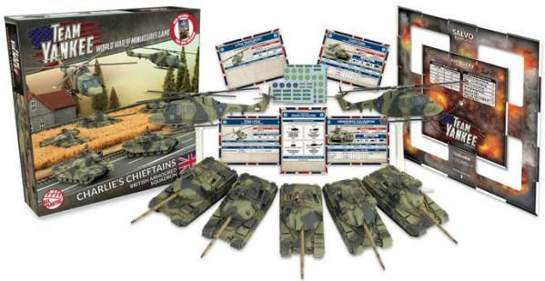 Flames Of War (Team Yankee): (British) Charlie's Chieftains (Plastic Army Deal)