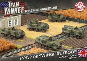 Flames Of War (Team Yankee): (British) FV432 Platoon (Plastic)
