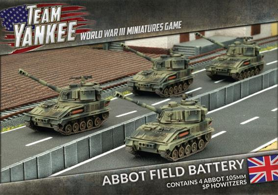 Flames Of War (Team Yankee): (British) Abbot Field Battery